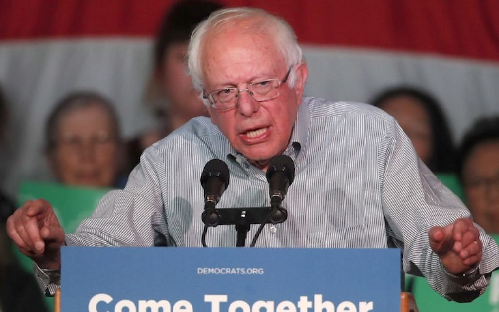 Why Bernie Sanders defending Israel on Al-Jazeera is a big deal