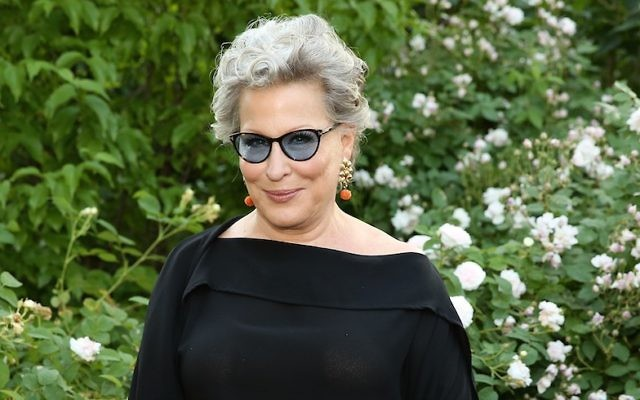 Actress, singer and founder of NYRP Bette Midler attends the 2016 New York Restoration Project's Spring Picnic at Morris-Jumel Mansion, in New York City, June 1, 2016 . (Monica Schipper/WireImage)