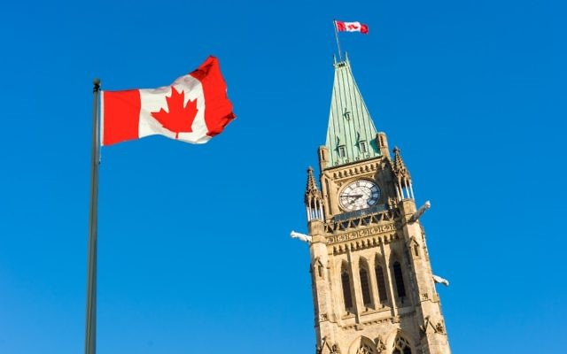 The Canadian parliament building  in Ottawa, Canada (MarcBruxelle/iStock)