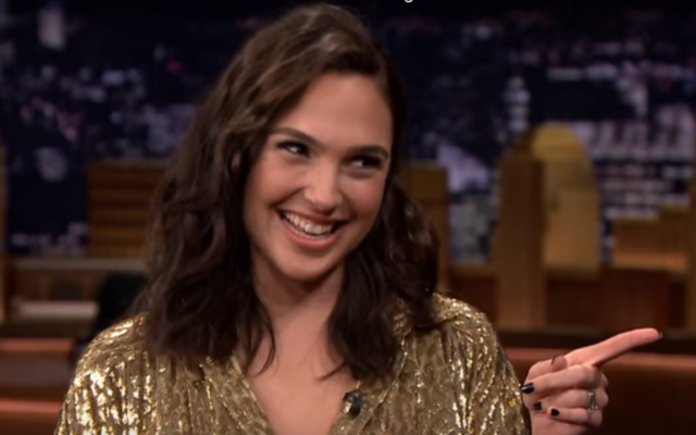 Actress Gal Gadot on 'The Tonight Show Starring Jimmy Fallon' on May 23, 2017. (Screen capture: YouTube)