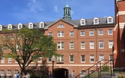 Illustrative photo of a building on the Georgetown University campus (YouTube screenshot)