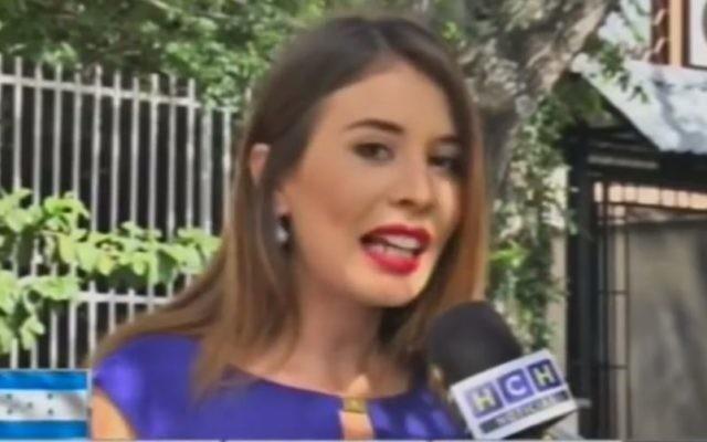 Iroshka Elvir, September 2016. (Screen capture: YouTube)