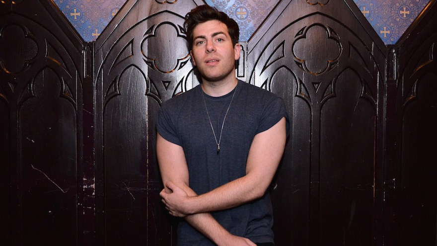Hoodie Allen at the House of Blues Sunset Strip in West Hollywood, Calif., Feb. 5, 2015. (Araya Diaz/Getty Images for MTV via JTA)