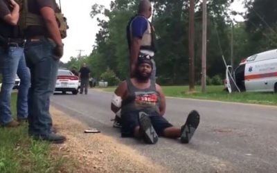 Police arrest the man suspected of killing 8 people in a shooting in Lincoln County, Mississippi on May 28, 2017.