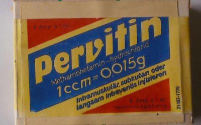 The methamphetamine-based Pervitin, a drug that achieved huge popularity in Germany during the late 1930s (Public Domain)