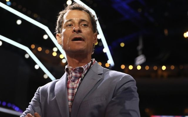 Former U.S. congressman Anthony Weiner leaves New York halfway house