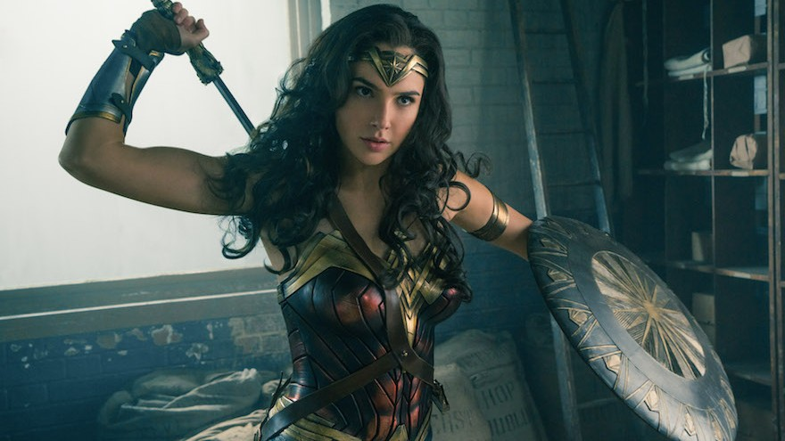 da04c1ff3e9 Gal Gadot discovers Wonder Woman s power in costume