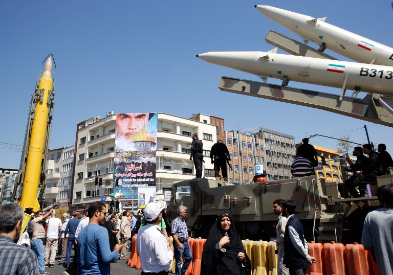 Damascus-Area Air Strike Targeted Missiles Trained on Israel
