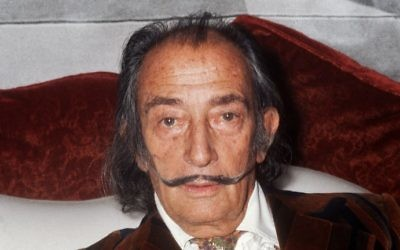 This photo taken on December 13, 1972 shows Spanish artist Salvador Dali in Paris. (STF / AFP)