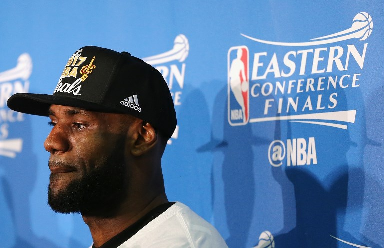 LeBron James addresses host of topics at media day