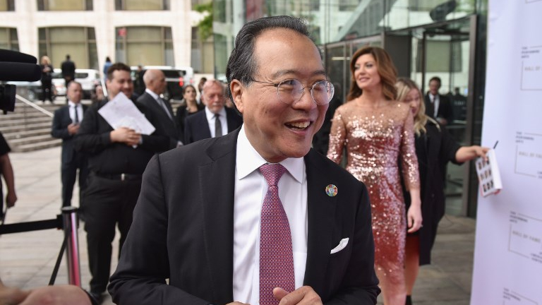 Hall of Fame Inductee Yo-Yo Ma attends Lincoln Center Hall Of Fame Gala at the Alice Tully Hall on June 6, 2017 in New York City. (Bryan Bedder/Getty Images for Lincoln Center/AFP)