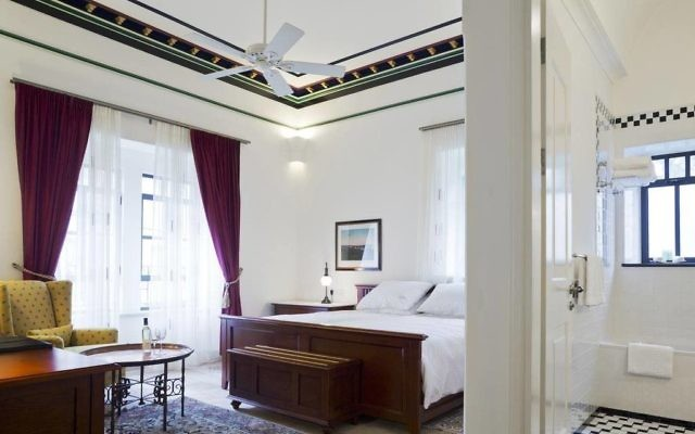 A suite at the American Colony Hotel. (Courtesy)