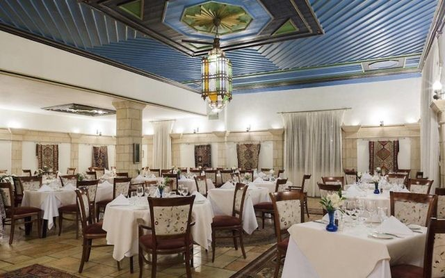 Arabesque Restaurant at the American Colony Hotel. (Courtesy)