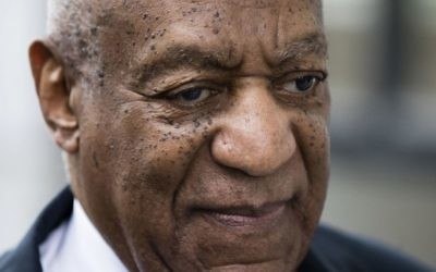 Bill Cosby arrives for his sexual assault trial at the Montgomery County Courthouse in Norristown, Pennsylvania on June 5, 2017. (AP/Matt Rourke)