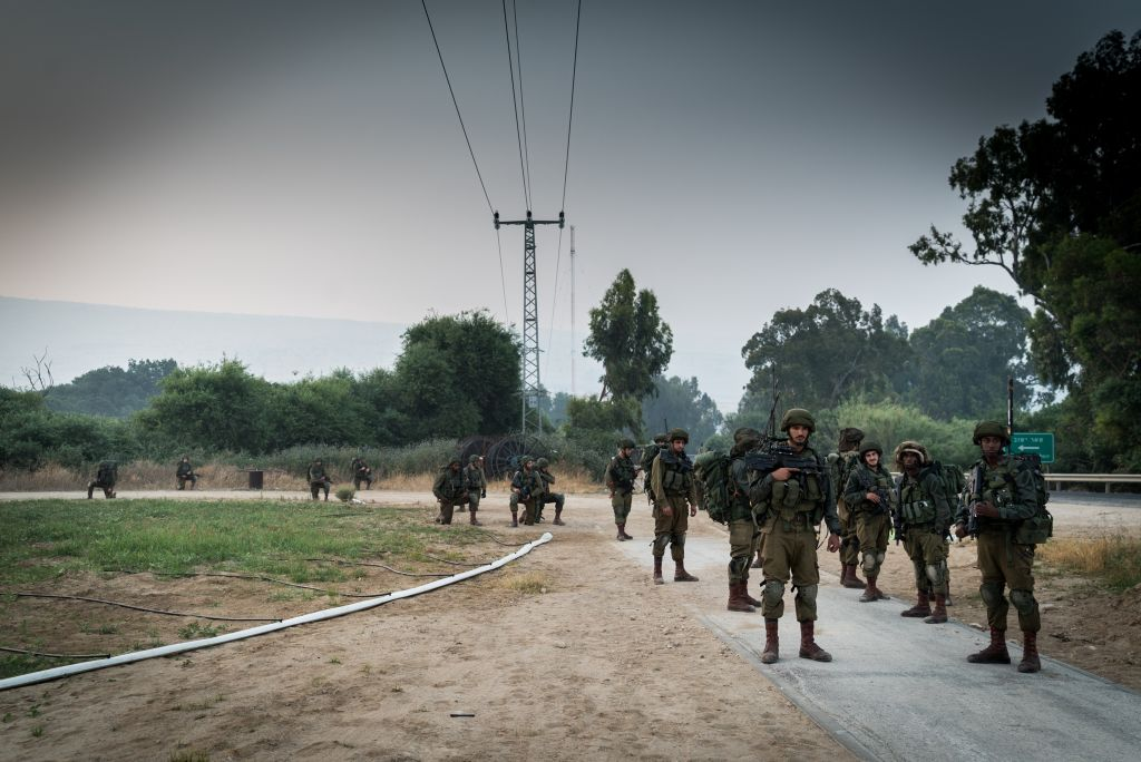 IDF troops take part in a surprise exercise in northern Israel in early June 2017. (IDF Spokesperson's Unit)
