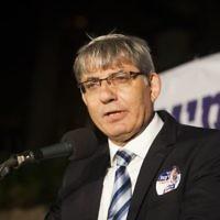 Jerusalem Deputy Mayor Meir Turgeman at an event in Jerusalem on September 1, 2013. (Yonatan Sindel/Flash90)