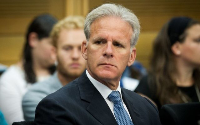 Kulanu MK Michael Oren, June 20, 2016. (Miriam Alster/Flash90)