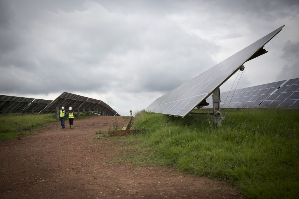 The Solar Field In Rwanda Pictured Here On February 17 2017 Has 28 360