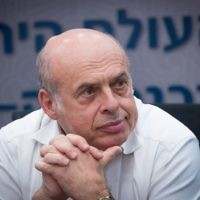 Jewish Agency chairman Natan Sharansky attends an emergency meeting in the Knesset of the lobby for strengthening ties with the Jewish world, June 27, 2017. (Yonatan Sindel/Flash90)