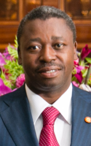 Togo President Faure Gnassingbé, August 2014. (Public domain, Amanda Lucidon / White House via Wikimedia commons)