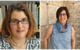 Children's book authors Shirley Graetz, left, and  Jessica Steinberg will be presenting at Personal Pages: Meet the Authors at The Tower of David Museum on Monday, June 19. (Photos courtesy/Caroline Shapiro-Weiss)