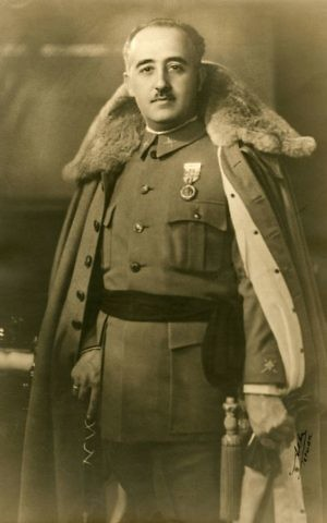 Spanish dictator Francisco Franco in 1930, nine years before he took power. (Public domain)
