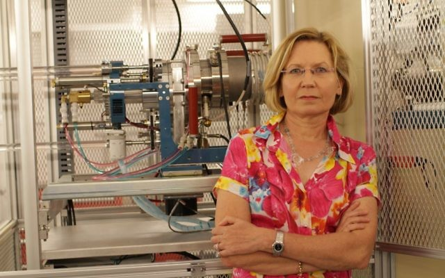 Dr. Elisabetta Boaretto, Head of the Weizmann Institute of Science's D-REAMS Radiocarbon Dating Laboratory (courtesy)