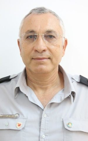 Haim Tamam, head of the Israel Fire and Rescue Services Safety and Investigations department. (Courtesy)