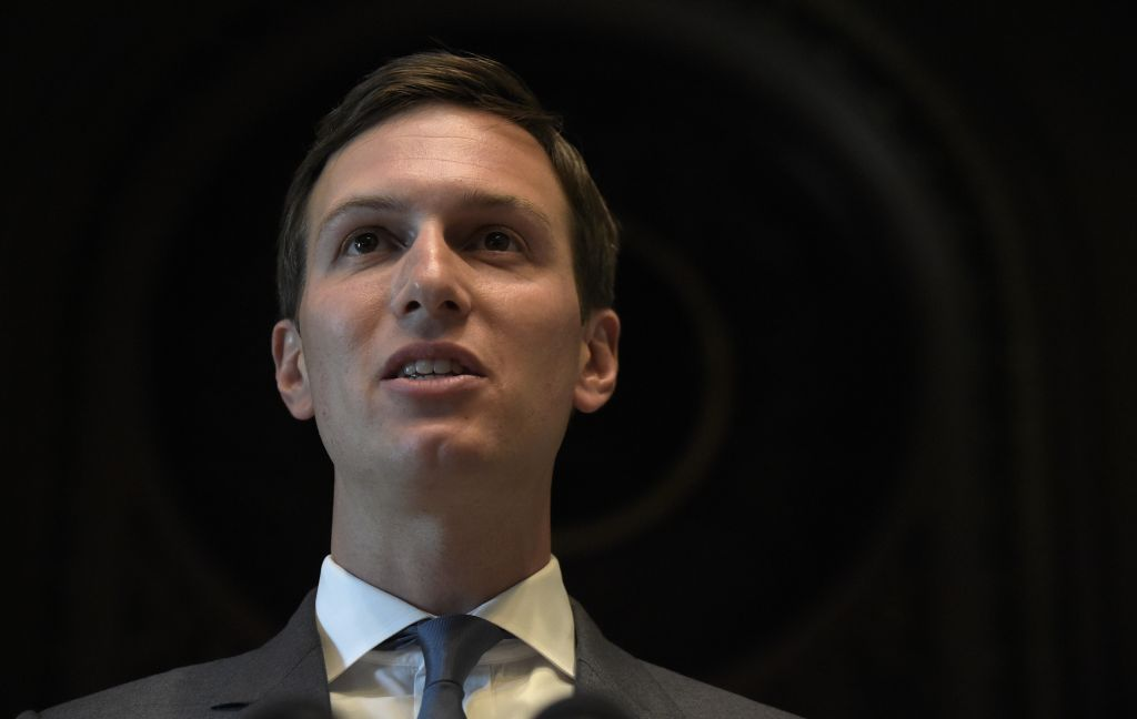 Jared Kushner registed to vote as a woman
