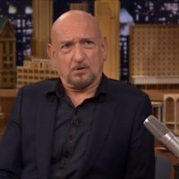 Actor Ben Kingsley on 'The Tonight Show,' August 2015. (Screen capture: YouTube)