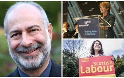 Clockwise from left: Fabian Hamilton (Courtesy), Margaret Hodge (Flickr/The Institute for Government), and Rhea Wolfson (Courtesy).