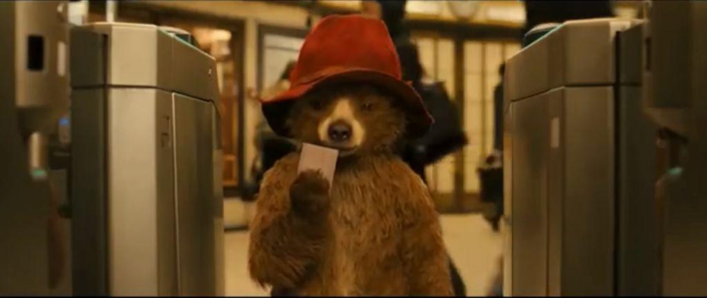 Paddington Bear in the 2014 movie of the same name. (Screen capture: YouTube)
