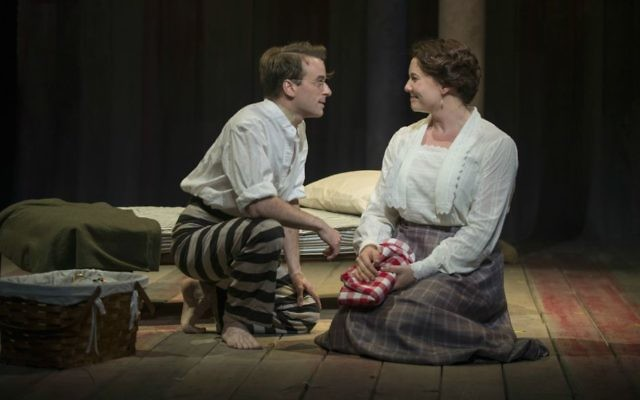 Patrick Andrews and Brianna Borger in 'Parade.' (Michael Brosilow)