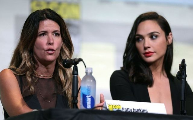 Patty Jenkins and Gal Gadot at the 2016 San Diego Comic Con. (CC 2.0 Gage Skidmore)