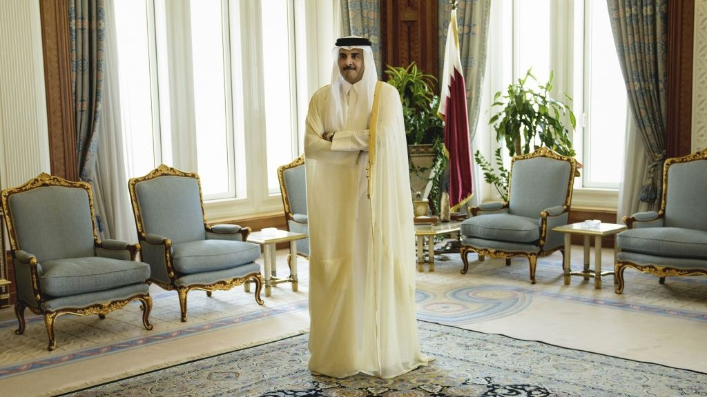Qatari emir meets Turkish president in Ankara amid Gulf diplomatic rift