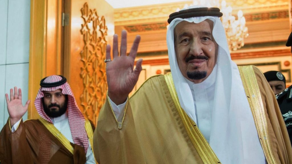 Saudi king swears in new ministers, replacing those detained