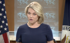 US State Department Spokeswoman Heather Nauert speaks to reporters during a press conference in Washington, DC on June 8, 2017 (screen capture)