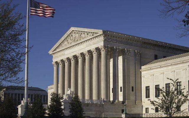 The US Supreme Court Building is seen in Washington, April 4, 2017.  (AP/Scott Applewhite,)