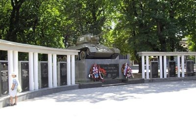 A World War II monument in Simferopol, in Crimea. (CC BY SA 3.0 Rumlin/Wikipedia)
