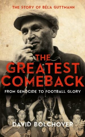 Cover of 'The Greatest Comeback' by British writer David Bolchover. (courtesy)