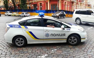Illustrative image of police car in Kiev. (CC BY-SA Qypchak, Wikimedia commons)