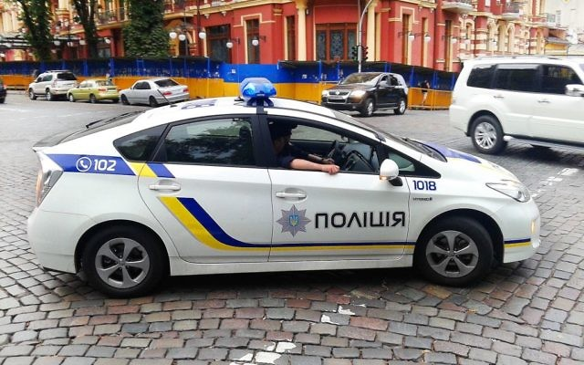 Illustrative image of police car in Kiev. (CC BY-SA Qypchak, Wikimedia commons)