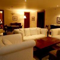 A suite at the David Citadel Hotel. (Flash90/Nati Shoham)