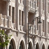Exterior Waldorf Astoria Jerusalem. (Courtesy)