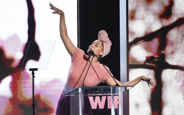Tracee Ellis Ross attends the Women In Film 2017 Crystal and Lucy Awards at the Beverly Hilton Hotel on Tuesday, June 13, 2017, in Beverly Hills, Calif. (Richard Shotwell/Invision/AP)