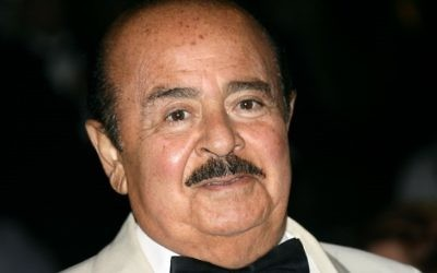 This file photo taken on September 2, 2007, shows Saudi-born businessman Adnan Khashoggi attending a gala charity of the World Association of Children's Friends at the Hotel de Paris in Monaco. (AFP/Valery Hache)