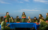 'The Last Supper' by Angelika Sher at The Mediterranean Biennale in Sakhnin (Courtesy The Mediterranean Biennale)
