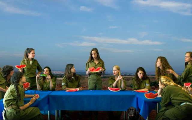 'The Last Supper' by Angelika Sher at The Mediterranean Biennale in Sakhnin (Courtesy The Mediterranean Biennale)