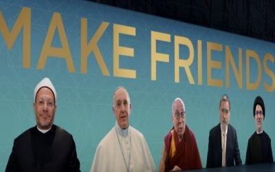 An image from the 'Make Friends' video, an initiative for interfaith relations by the Elijah Interfaith Institute (YouTube screenshot)