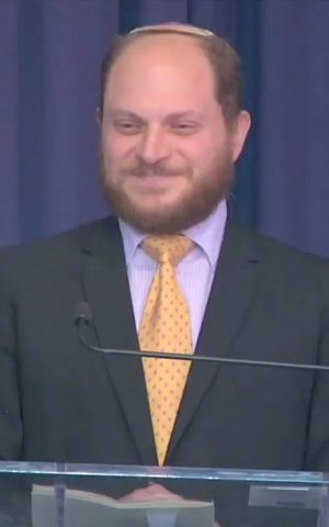 Rabbi David Basior of the Seattle Reconstructionist Community. (Youtube screen capture)